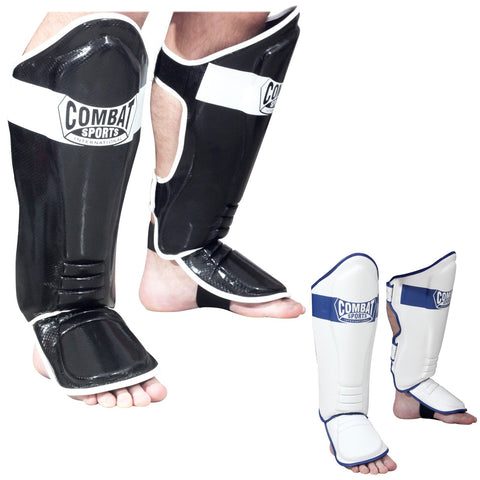 COMBAT SPORTS KICKBOING SHIN GUARDS