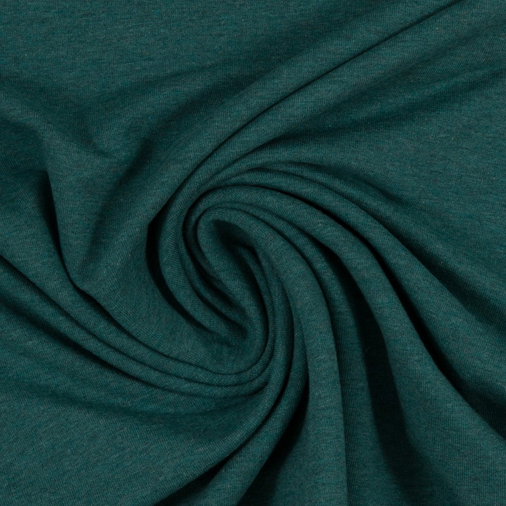 Euro Jersey - Heather, Dark Green