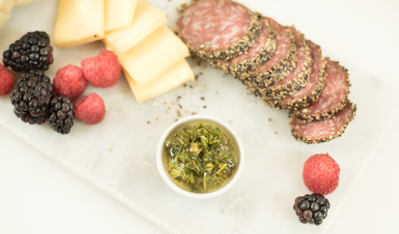 Charcuterie board ideas... with chimichurri!