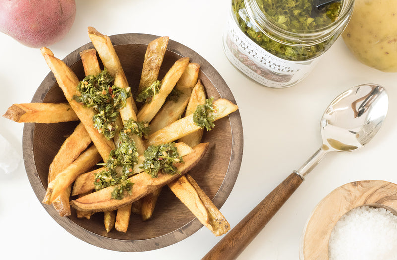 Chimichurri pairings: Chimichurri with fries
