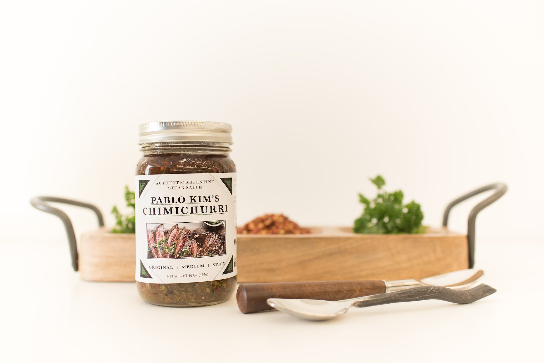 Medium Spice Chimichurri (16oz)