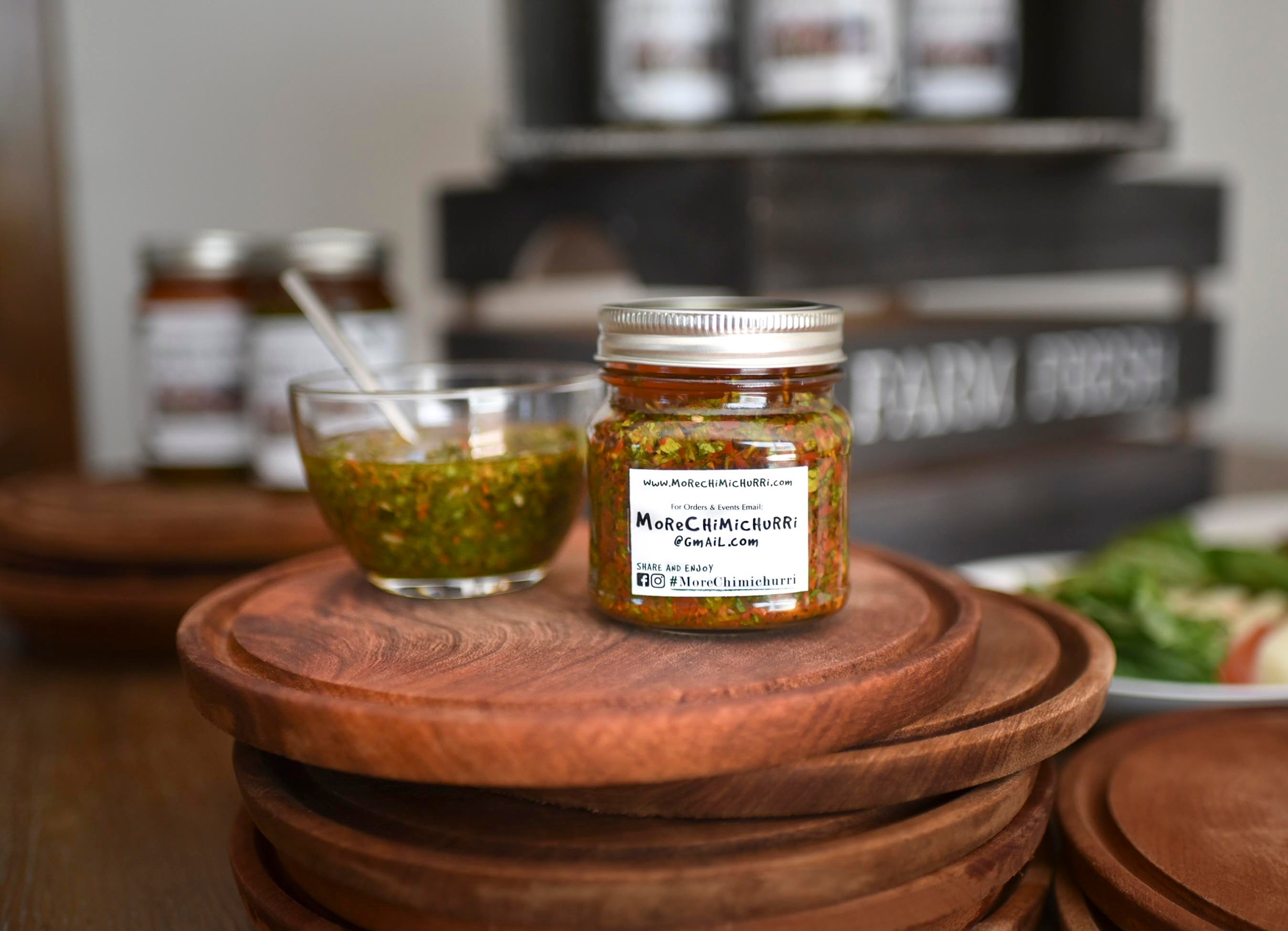 Medium Spice Chimichurri (8oz)