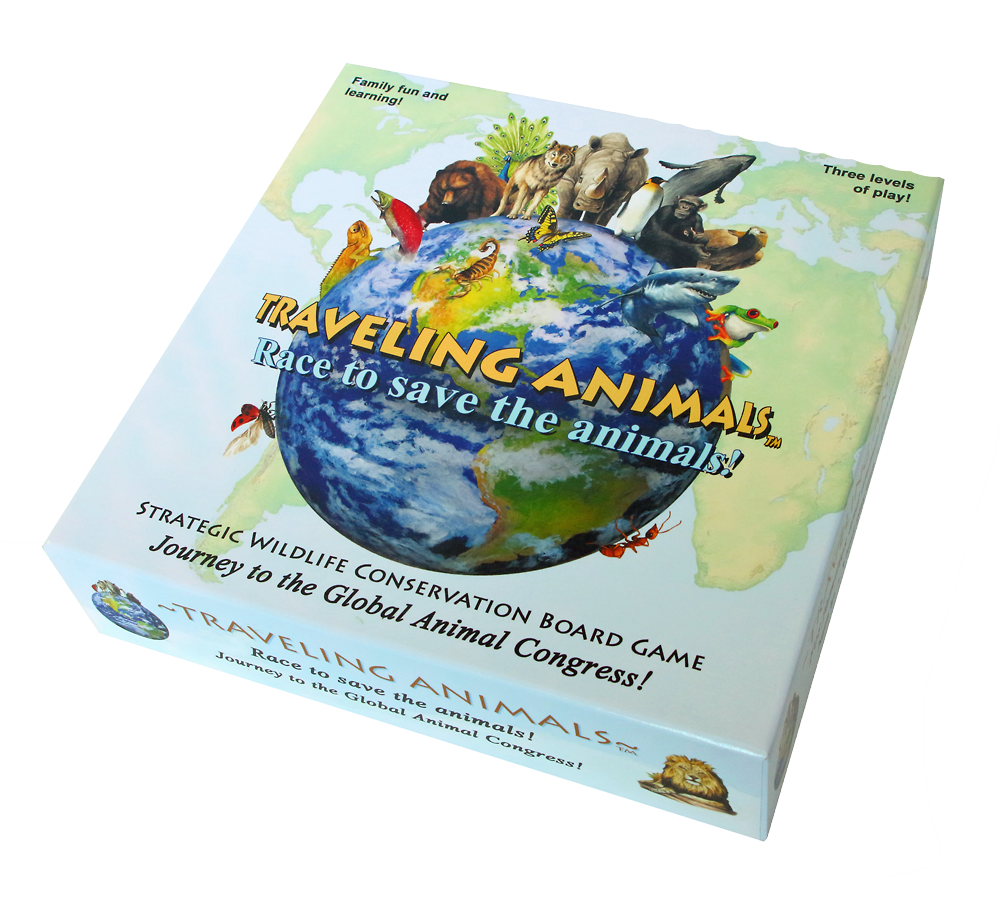 Traveling Animals Board Game
