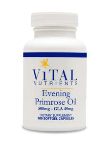 Evening Primrose Oil 500 mg 100 gels
