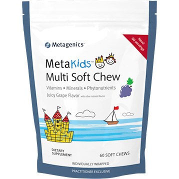 MetaKids Multi Soft Chew Grape 60 CT