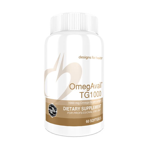OmegAvail™ TG1000 Omega 3 Fish Oil - 60 CT
