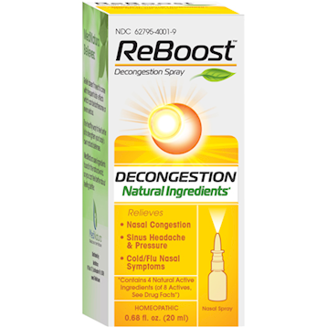 Reboost Decongestion Nasal Spray 20 mL