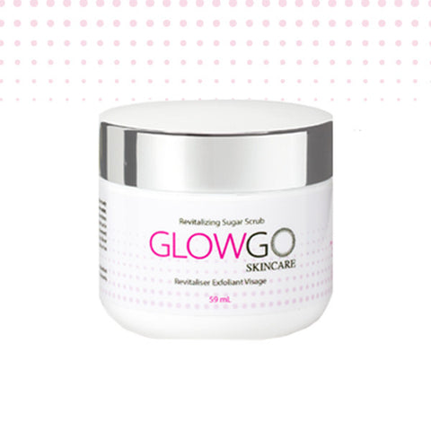GlowGo Revitalizing Sugar Scrub  {59mL}