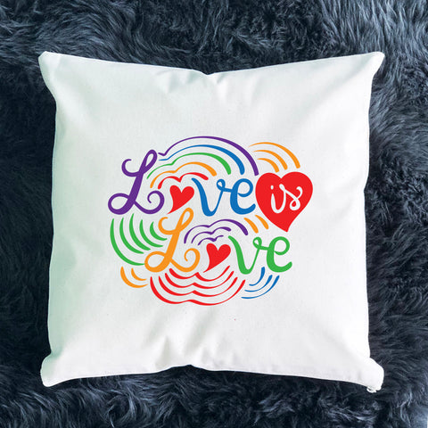 Love is Love Throw Pillow