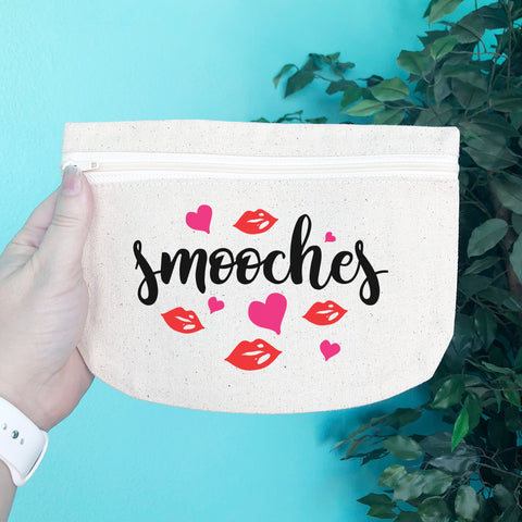 Smooches Pencil & Makeup Bag