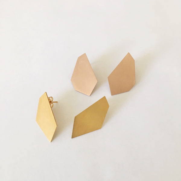Geo Six II Earrings