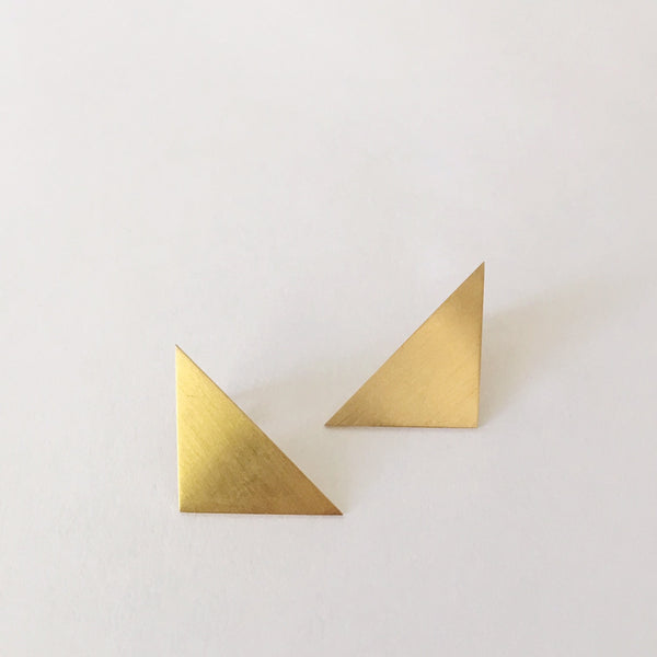 Geo Right Tri Earrings
