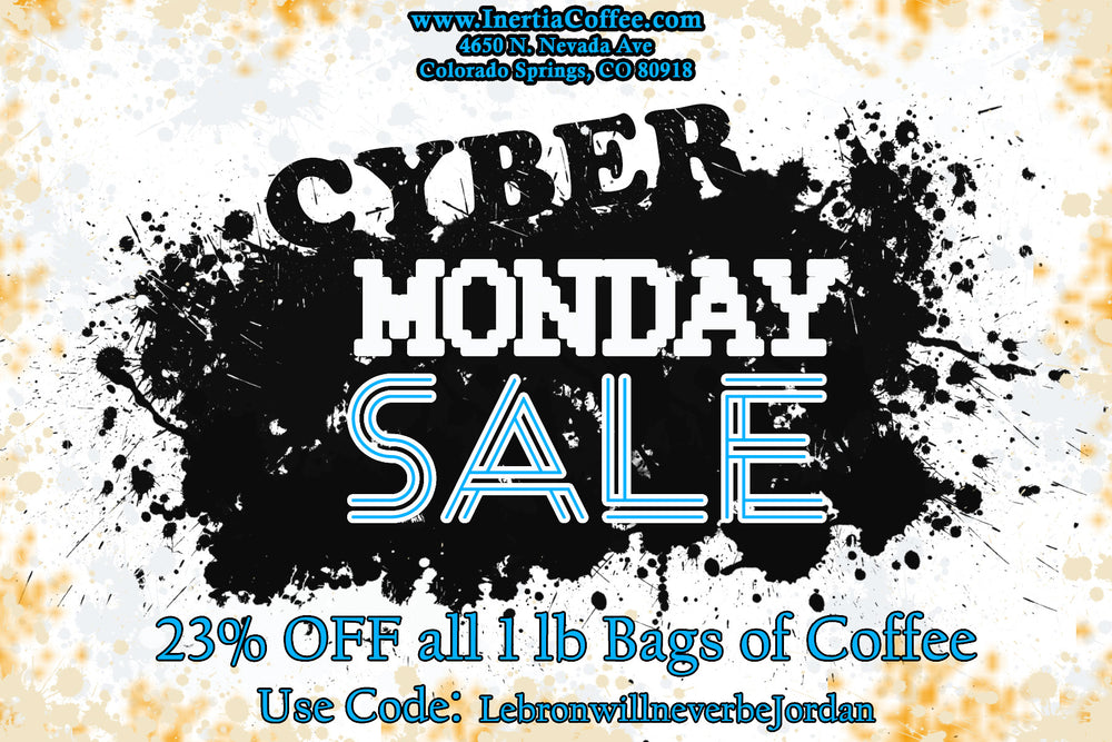 Cyber Monday Coffee Sale