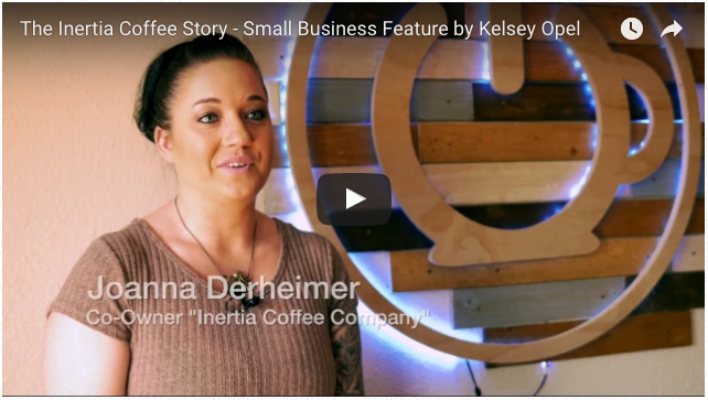 The Inertia Coffee Story by Kelsey Opel