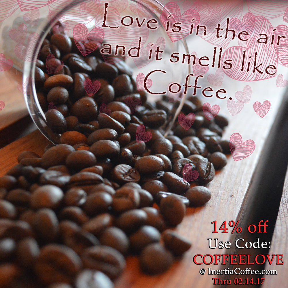 Valentines Day Coffee Sale