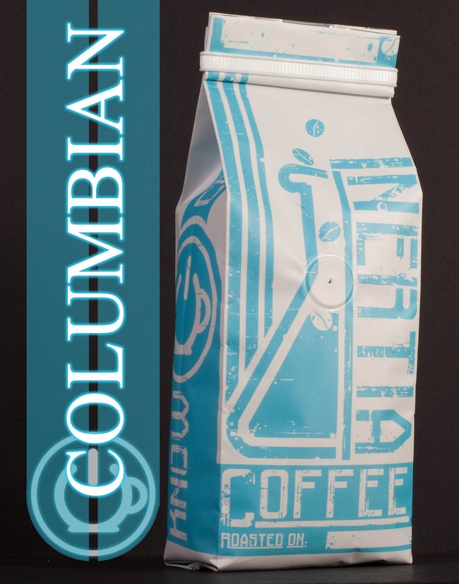 Columbian Medium/Light Roast Coffee Beans - 1lb