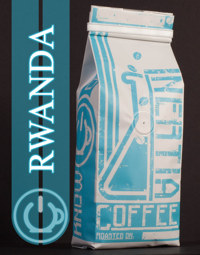 Rwandan Medium/Dark Coffee Beans - 1lb
