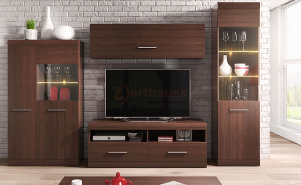 Living Room Bordo in Oak Chocolate