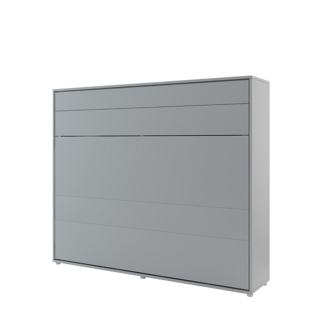 BC-14 Horizontal Wall Bed Concept 160cm in Grey Matt