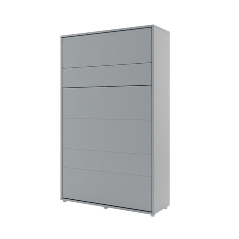 BC-02 Vertical Wall Bed Concept 120cm in Grey Matt
