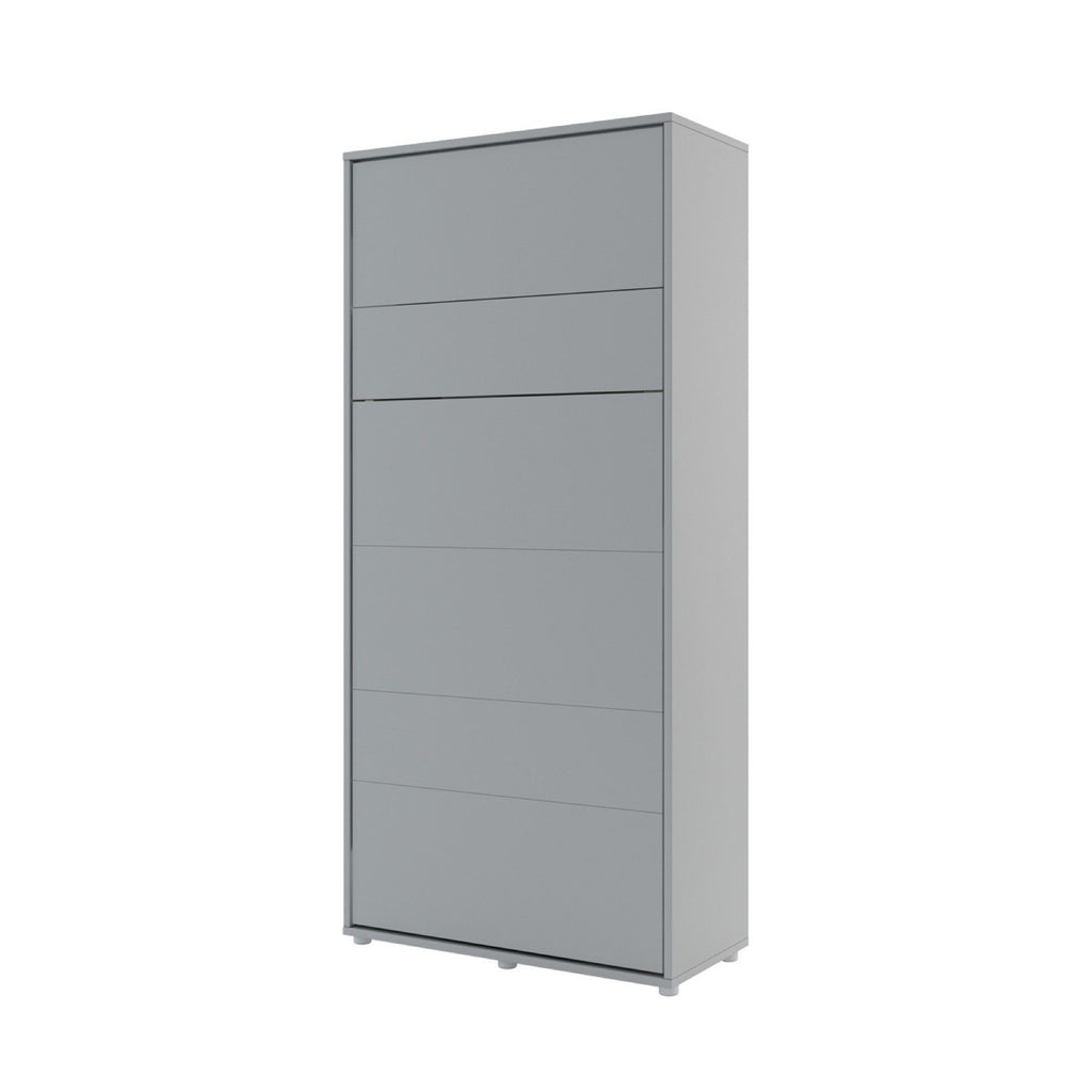 BC-03 Vertical Wall Bed Concept 90cm in Grey Matt