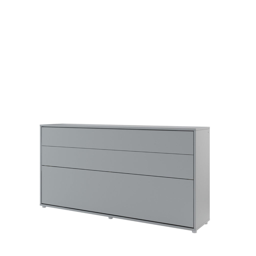 BC-06 Horizontal Wall Bed Concept 90cm in Grey Matt