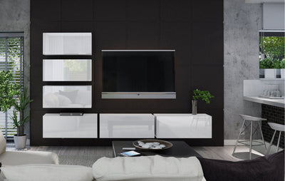 Boxing 4 Gloss Entertainment Unit