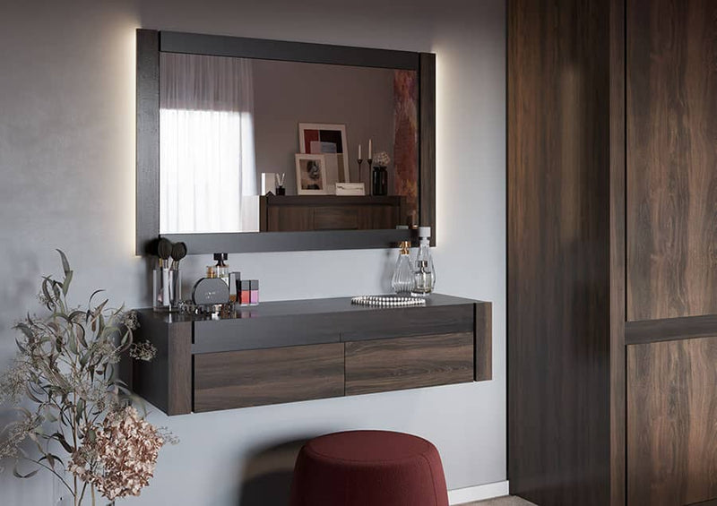 Notte NT-08 Wall Hung Dressing Table