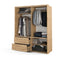 Arti 22 2 Sliding Door Wardrobe with Drawers 180cm