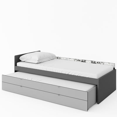 Pok PO-14 Bed with Trundle and Storage