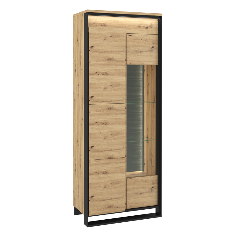 Quant QA-03 2 Doors Tall Display Cabinet