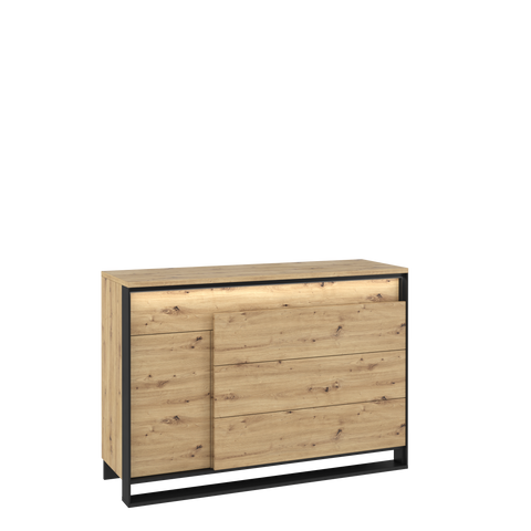 Quant QA-08 1 Door 3 Drawers Cabinet