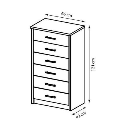Cremona Chest of Drawers