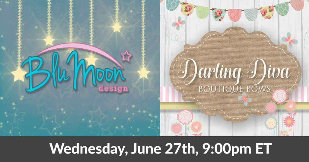 LIVE SALE Collab With Darling Diva Boutique Bows June 27