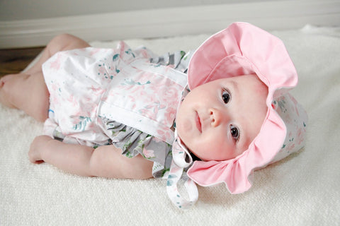 Bunnies and Blooms Emmy Romper