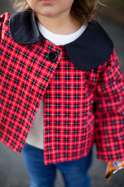 Christmas Buffalo Plaid Jacket