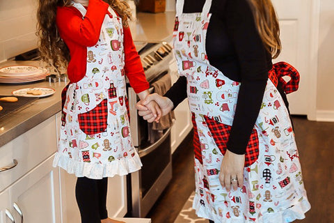 Christmas Adult Apron
