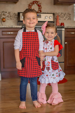 Christmas Kids Apron