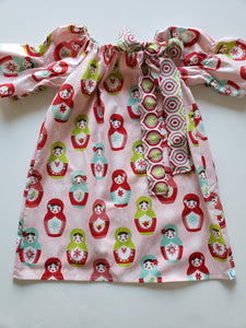 Matroyshka Simple Dress