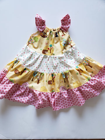 Woodland Twirl Dress