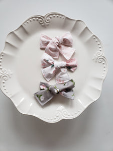 Bunnies and Blooms Hair Bow