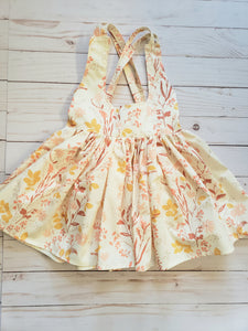 Cream Floral Sadie Skirt