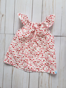 Valentine Heart Top