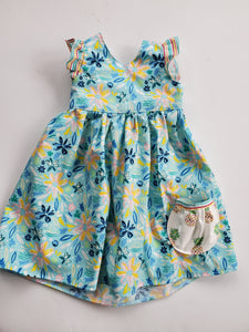 Pineapple Paradise Ellie Dress