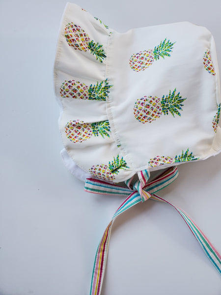 Pineapple Paradise Bonnet