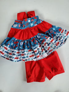 Patriotic 2020 Bloomers/Cuff Shorts
