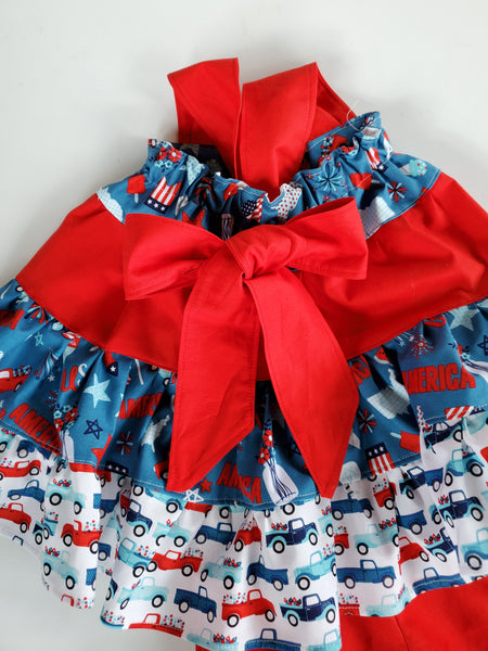 Patriotic 2020 Tunic Twirl Top