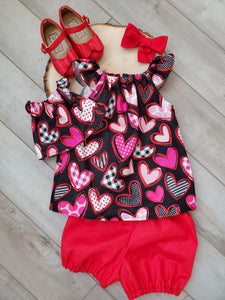 Valentine's Heart Top