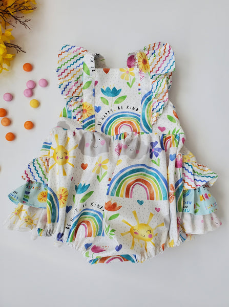 Rainbow and Sunshine Emmy Romper