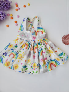 Rainbows and Sunshine Sadie Skirt